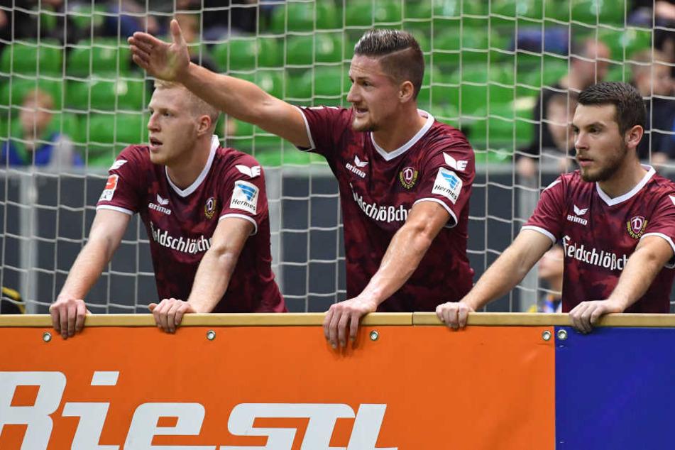 Bei Dynamo lief nichts zusammen. Nach der Vorrunde war in Riesa Schluss.