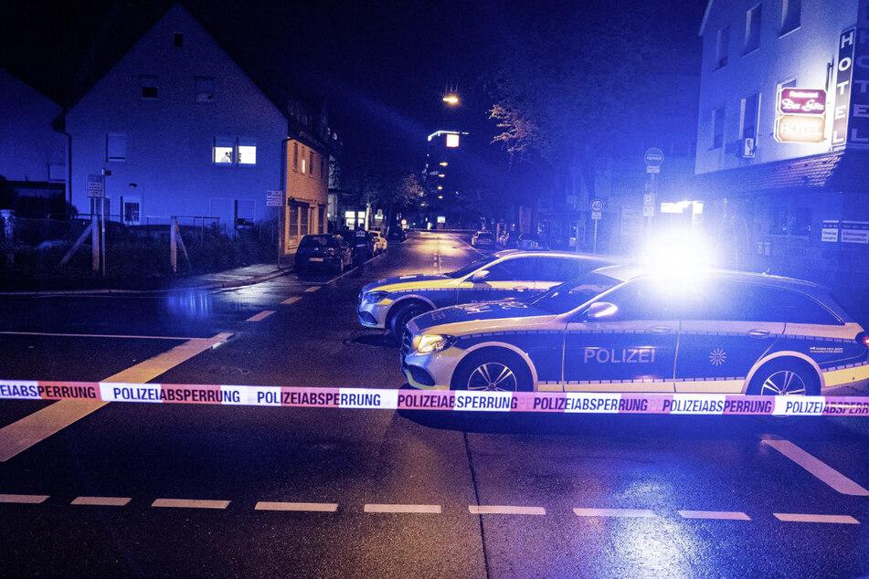 Die Polizei sperrte zwischenzeitlich die Straßen in der Innenstadt ab.