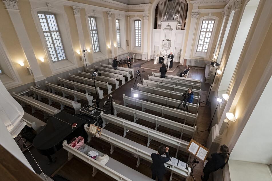 In den vergangenen Wochen waren die Kirchen leer geblieben (Archivbild).