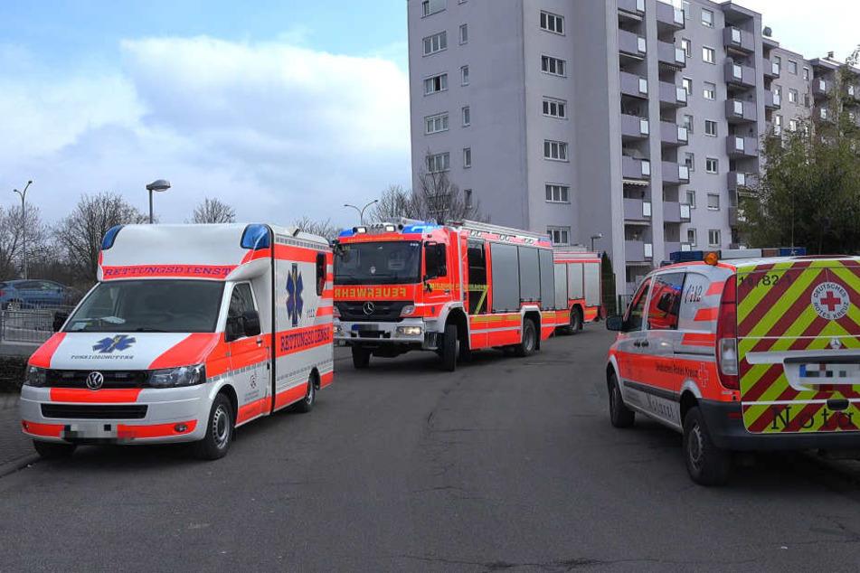 In einem Mehrfamilienhaus in Rüsselsheim geschah das Unglück.