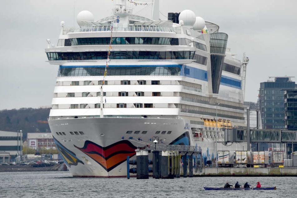 Er stürzte vom Kreuzfahrtschiff Aida Luna.