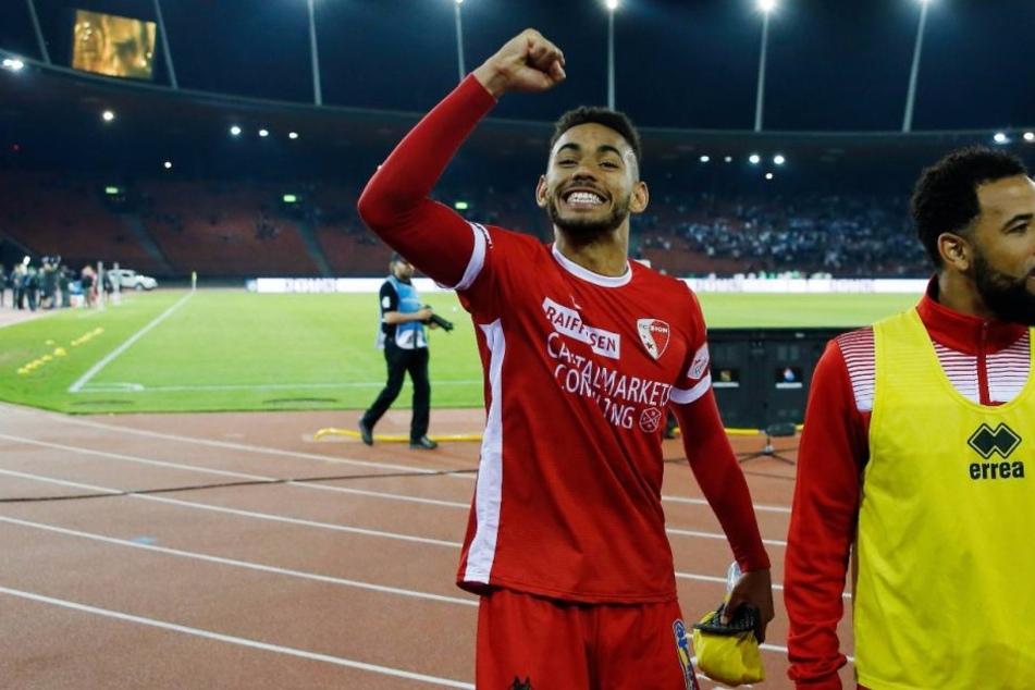Matheus Cunha (19) hat sich nach nur einer Saison beim FC Sion in der Schweiz auf die Notizzettel mehrerer Vereine aus Europas Top-Ligen geschossen.
