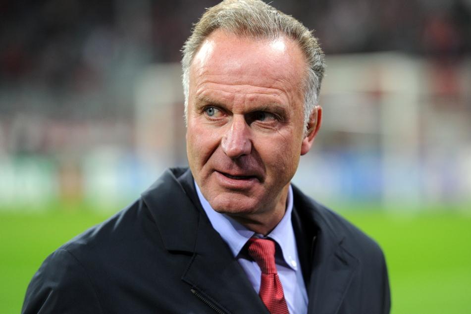 Karl-Heinz Rummenigge, Vorstandsvorsitzender der Bayern München beim UEFA-Champions-League-Fußballspiel der Gruppe D zwischen dem FC Bayern München und ZSKA Moskau in der München Arena im Jahr 2013.