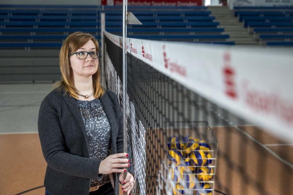 Geschäftsführerin Sandra Zimmermann verspricht den Fans, dass die Mannschaft alles in die Waagschale werfen wird.