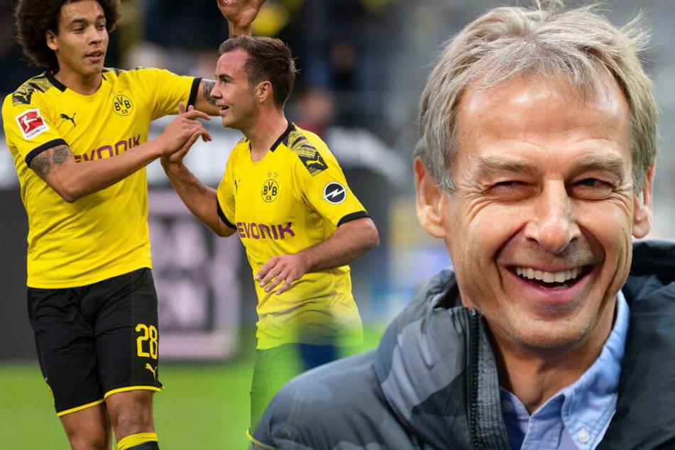 Jürgen Klinsmann hat sich zu den Gerüchten zu Mario Götze geäußert.