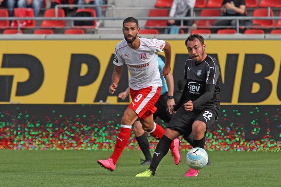 Der FSV Zwickau konnte sich in Halle nicht mit einem Punkt belohnen.