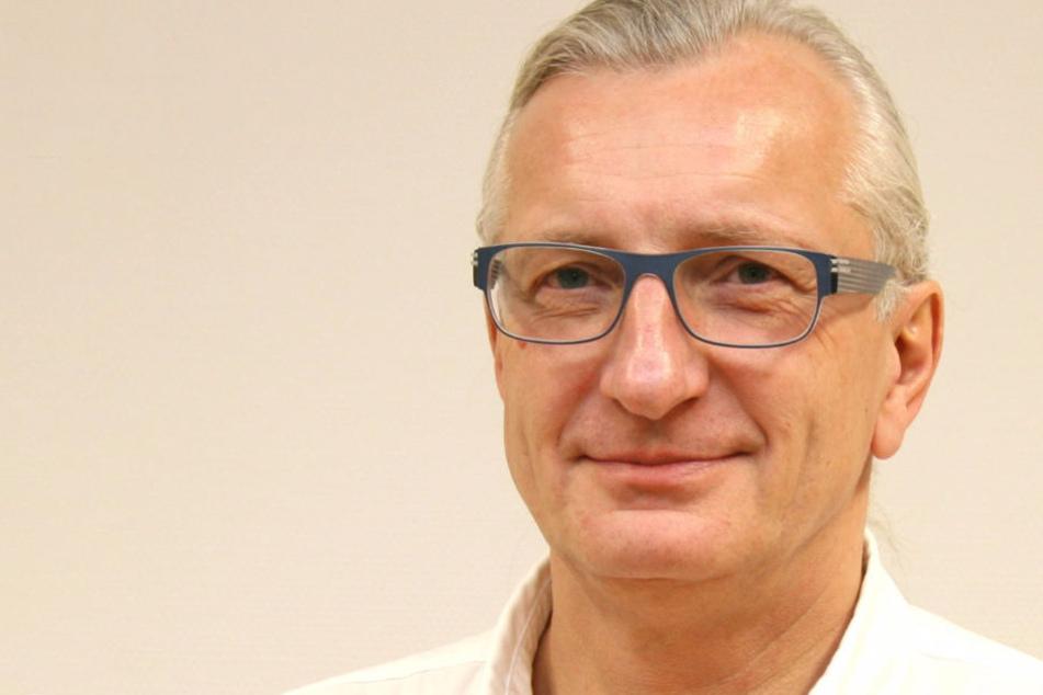 Dr. Uwe Richter, Chefarzt im DRK Krankenhaus Chemnitz-Rabenstein