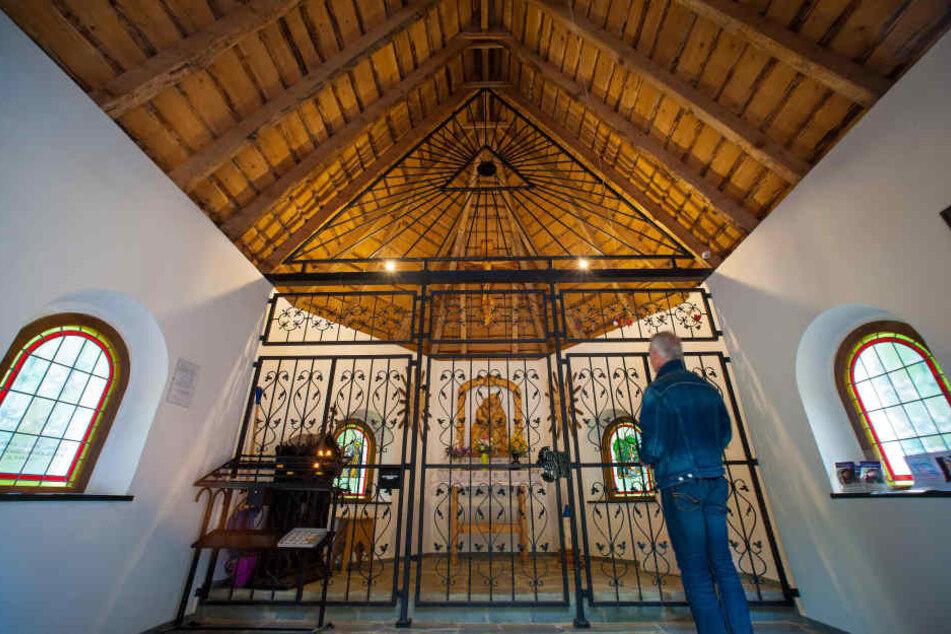 Der neue Weg führt Pilger jetzt direkt zur Kapelle St. Anna in Zwönitz.