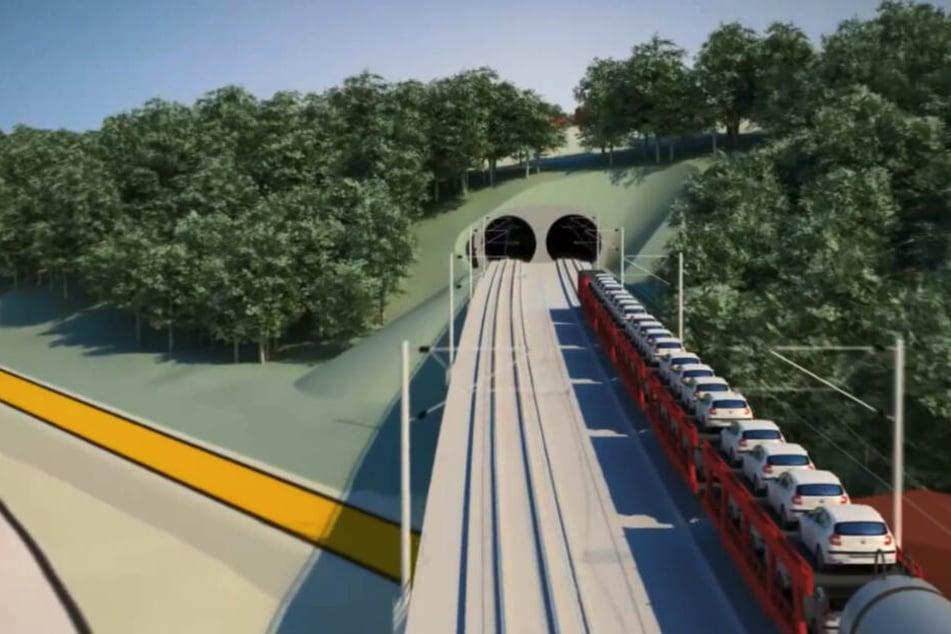 Mega-Projekt von Dresden nach Prag! Bahn will Erzgebirge untertunneln