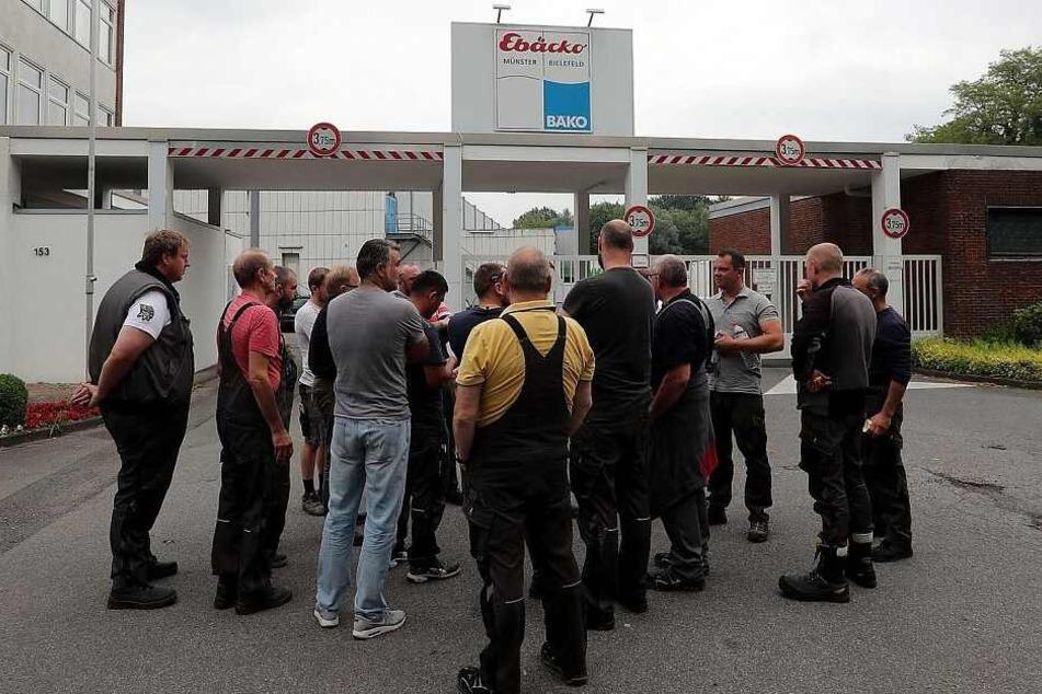 Die Mitarbeiter mussten evakuiert werden.