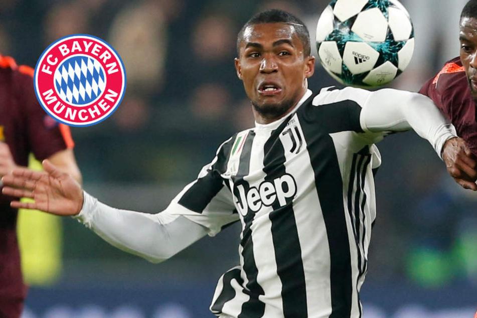 Geldsegen für FC Bayern: Juventus zieht Kaufoption bei Douglas Costa