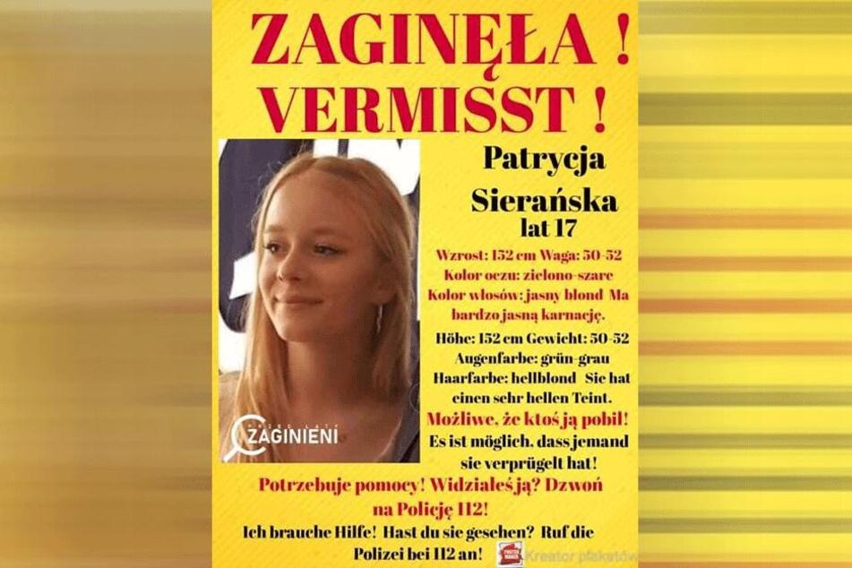 Die 17-Jährige soll angeblich in Hamburg sein.