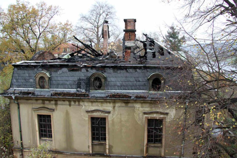 Im September 2014 wurde diese denkmalgeschützte Villa in Blasewitz illegal abgerissen. Bis heute ist nichts passiert.