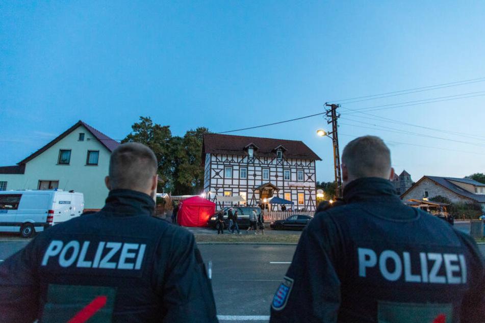 Diese Gaststätte in Klöstern Veßra dient immer wieder als Treffpunkt für Rechtsextreme.
