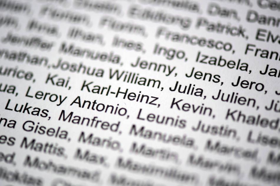 Die Namen Kai, Karl-Heinz, Kevin und Khaled sind auf der Liste zu lesen, die der Innenminister auf eine Anfrage der Afd herausgegeben hat.