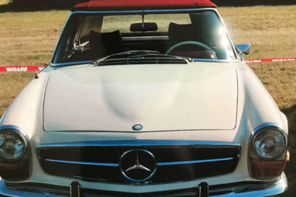 Klassiker wie Mercedes 280 SL Pagode sind bei Dieben sehr begehrt.