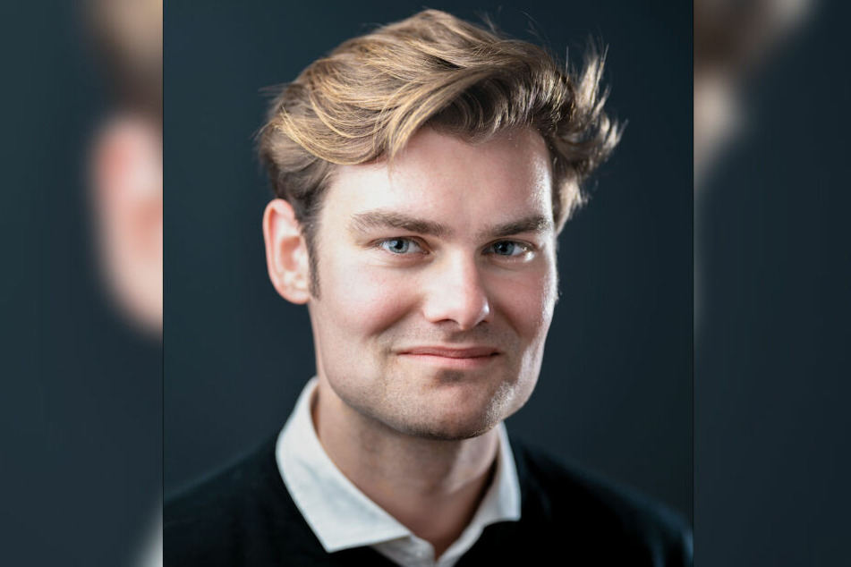 """Sascha Kodytek (23) aus Leipzig gehört zur Initiative """"Zukunft Sachsen""""."""