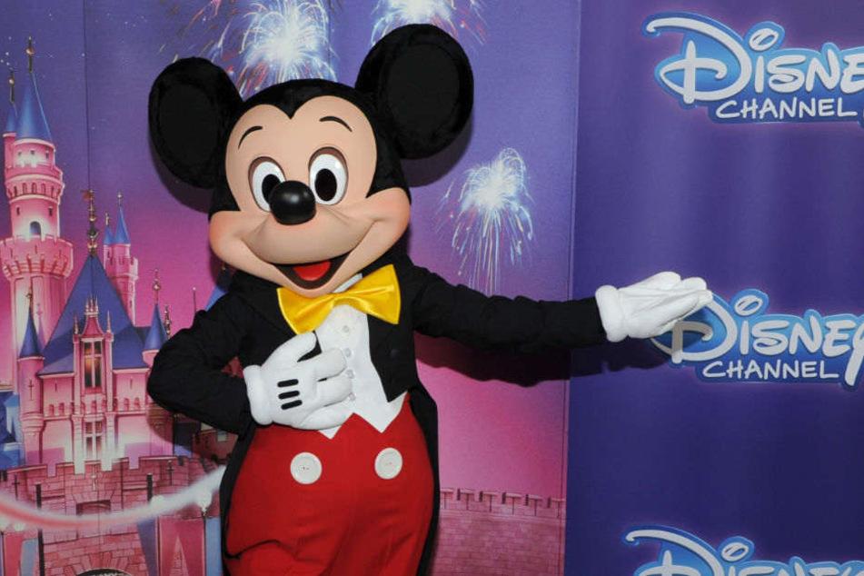 """Auch Micky Maus ist in dieser Woche bei """"Germany's Next Topmodel"""" mit dabei."""