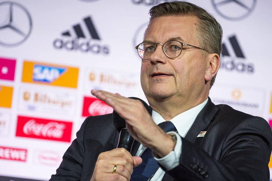 Laut DFB-Präsident Reinhard Grindel wurden 79.000 WM-Tickets nach Deutschland verkauft.