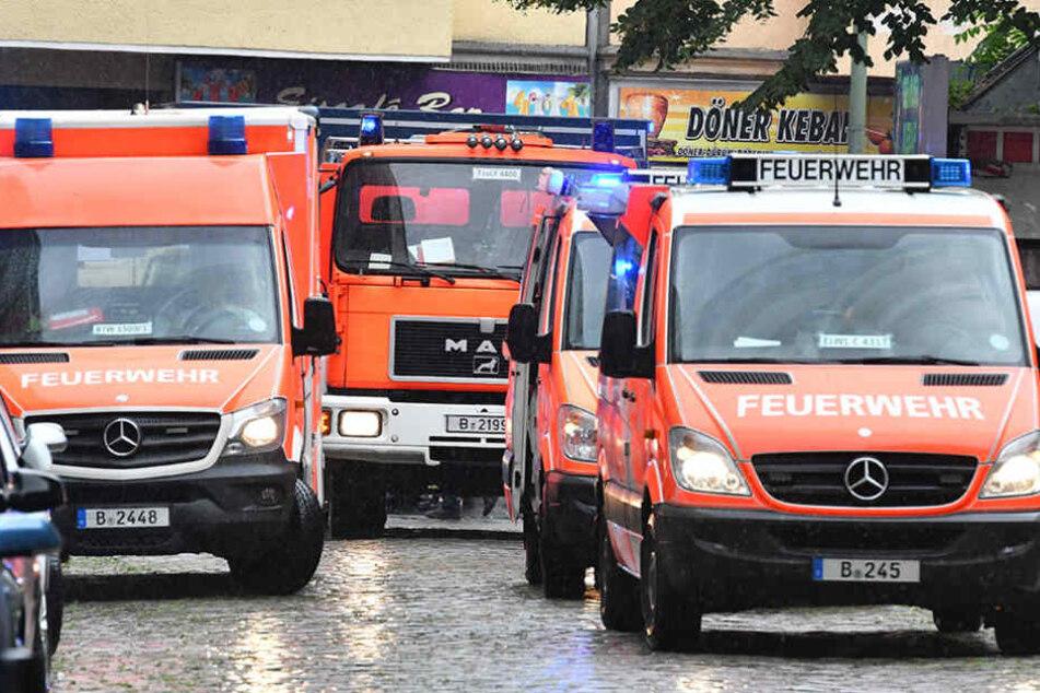 Pankow Gasleitung beschädigt - Kita und Flüchtlingsheim evakuiert