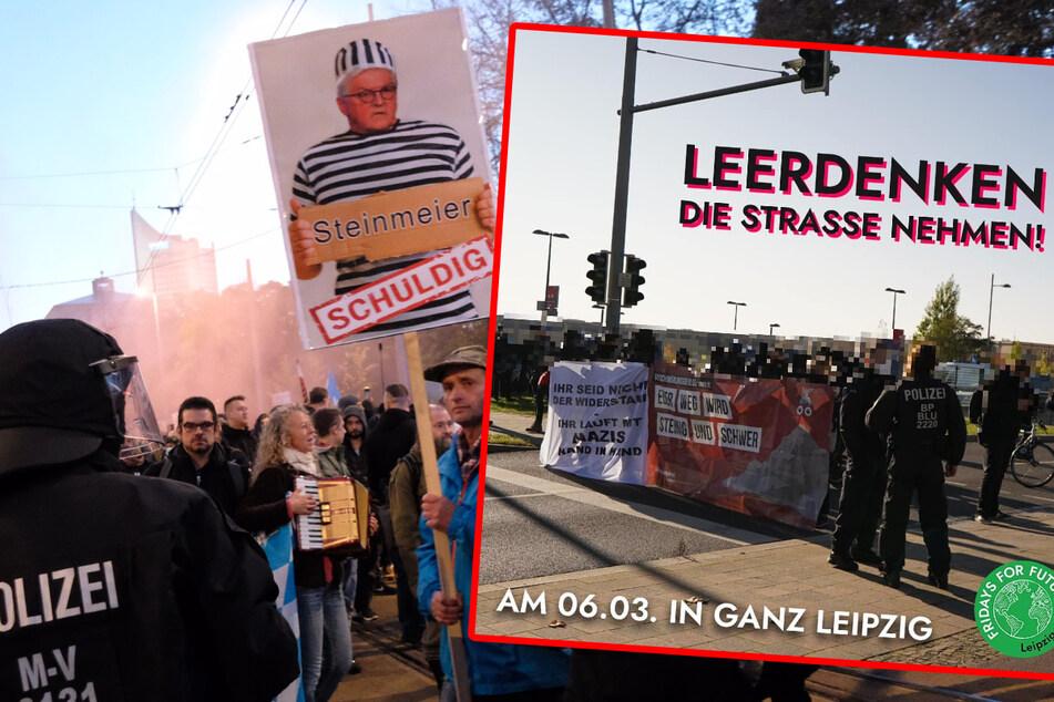 Leipzig: Anti-Corona-Demo in Leipzig: Auch Fridays for Future ruft zur Gegendemo auf