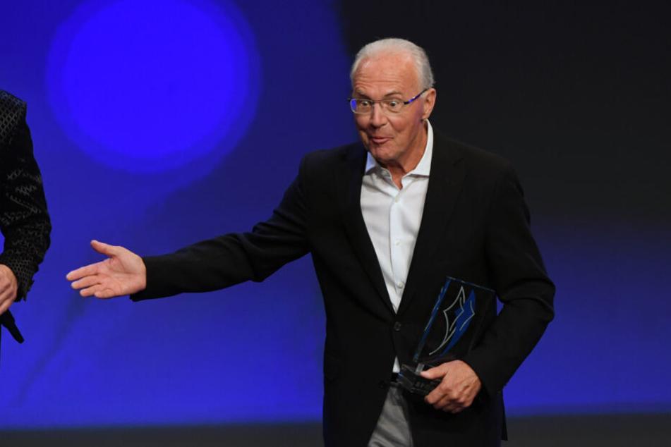 Franz Beckenbauers Enkel hat das Fußball-Gen seines Opas wohl geerbt.