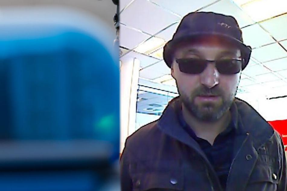 Der gesuchte Mann hob Geld mit einer fremden Geldkarte ab.