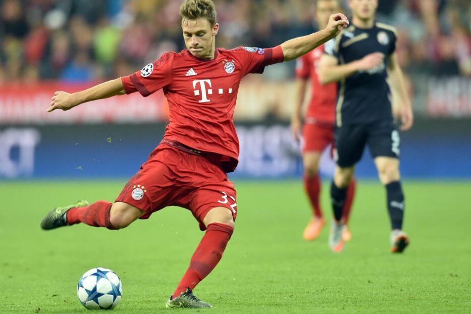 Trägt längst das Trikot des FC Bayern: Ex-VfB-Kicker Joshua Kimmich.