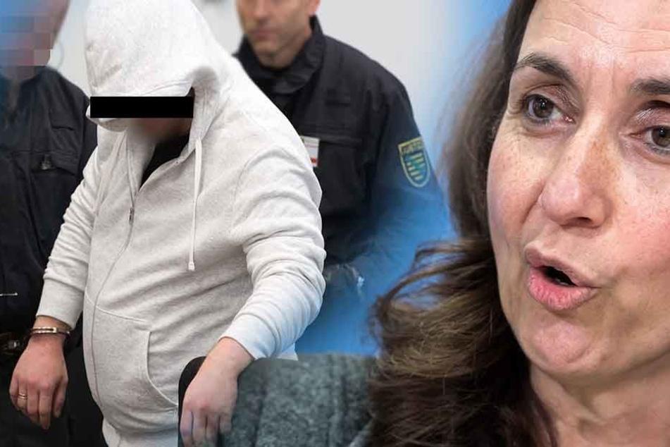 Mike S. (38) Verteidiger beantragte, dass die Bundesbeauftragte für Migration, Flüchtlinge und Integration, Aydan Özoguz als Zeugin im Terrorprozess aussagt.