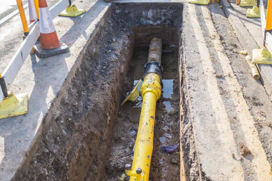 Wegen Bauarbeiten an einer Wasserleitung gab es keine funktionierenden Toiletten.