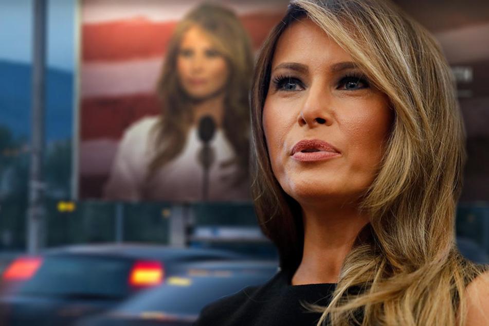 Melania Trump stinksauer: Sprachschule wirbt mit ihrem Portrait