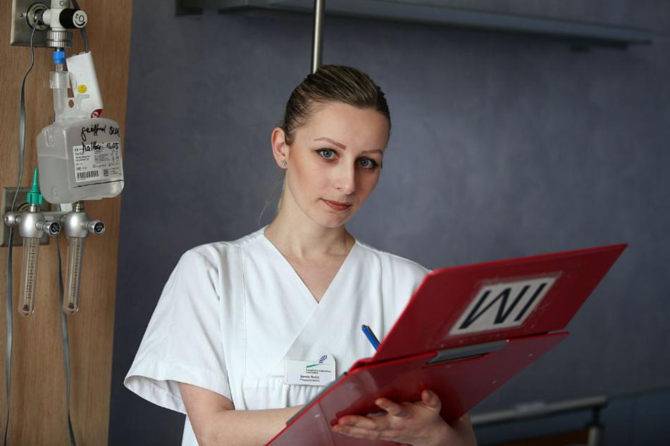 Sandra Radulj (28) aus Bosnien kann nach einem Anerkennungsjahr als Fachkraft arbeiten.