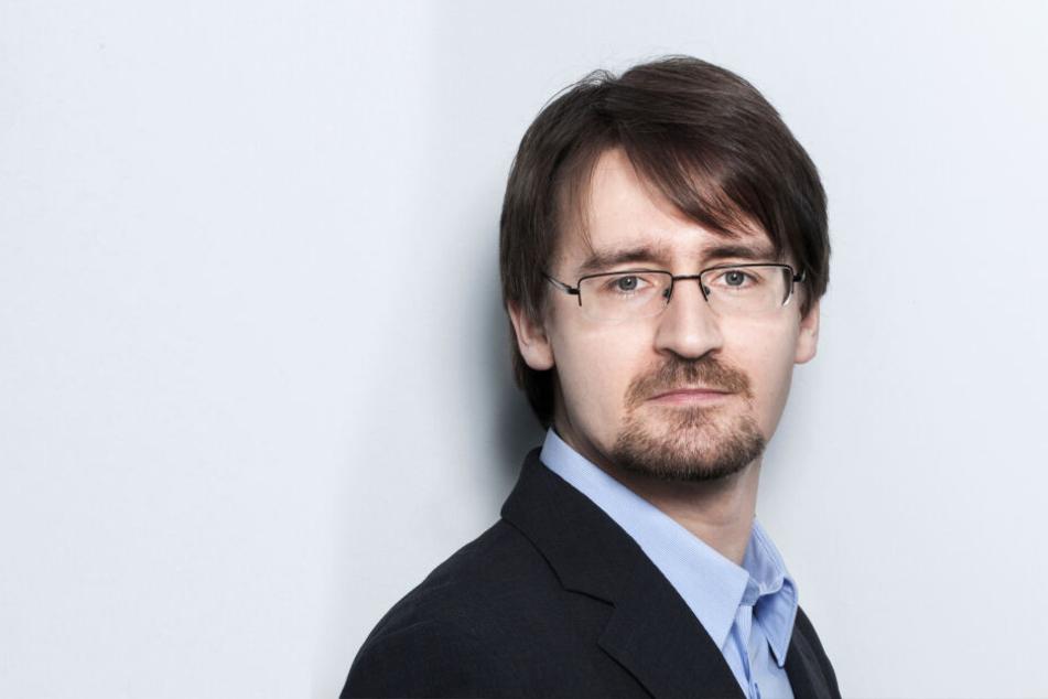 Soziologe Ulrich Weiser (39) hat die Einwohnerdaten ermittelt.