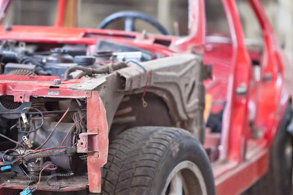 Die Fahrzeuge wurden zerlegt und die Einzelteile an Händler und private Kunden verkauft.