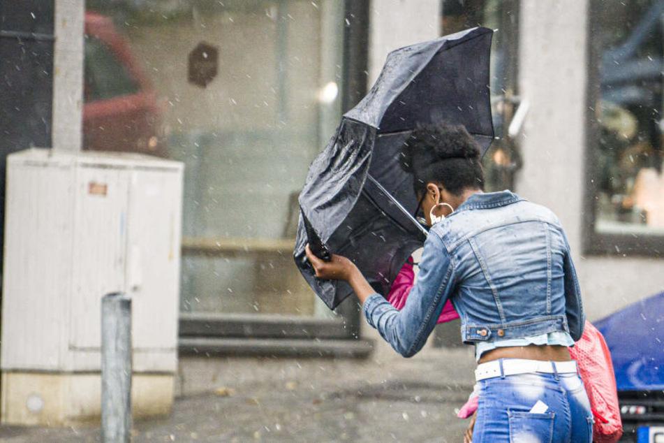 In Hessen wird es zu Wochenbeginn regnerisch.