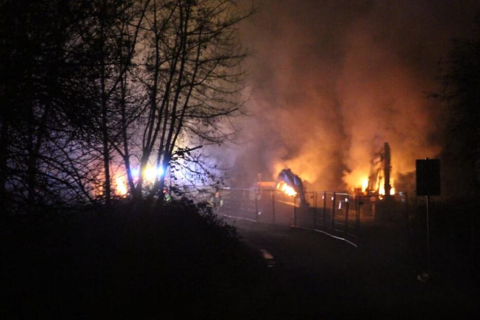Leipzig: Anschläge auf Bahn-Bagger in Leipzig: Jetzt ermittelt das Extremismus-Abwehrzentrum
