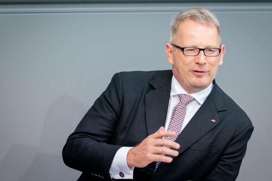Johannes Kahrs ist SPD-Bundestagesageordneter für den Wahlkreis Hamburg-Mitte. (Archivbild)