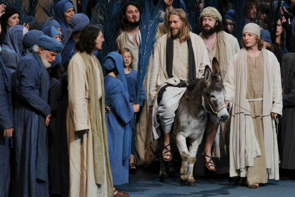 Jesus ohne E-Scooter: Heiland bleibt bei Transportmittel Esel