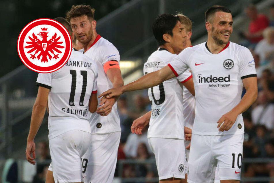 Die nächste Runde ist gebucht! Eintracht versenkt Vaduz mit 5:0