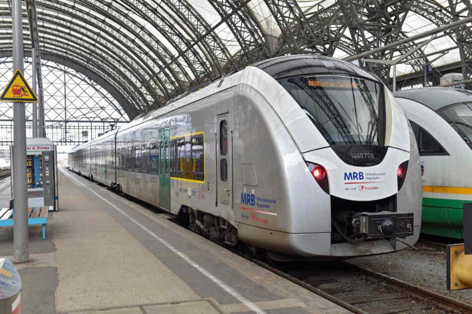 Mit dem Zug durch Sachsen? Dieses Wochenende müsst ihr vielleicht auf Busse umsteigen