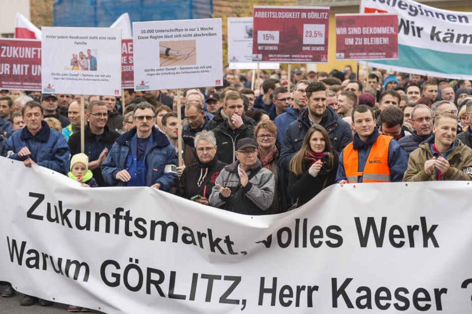 Die Proteste halfen nichts. Auch das Görlitzer Werk wird schließen.