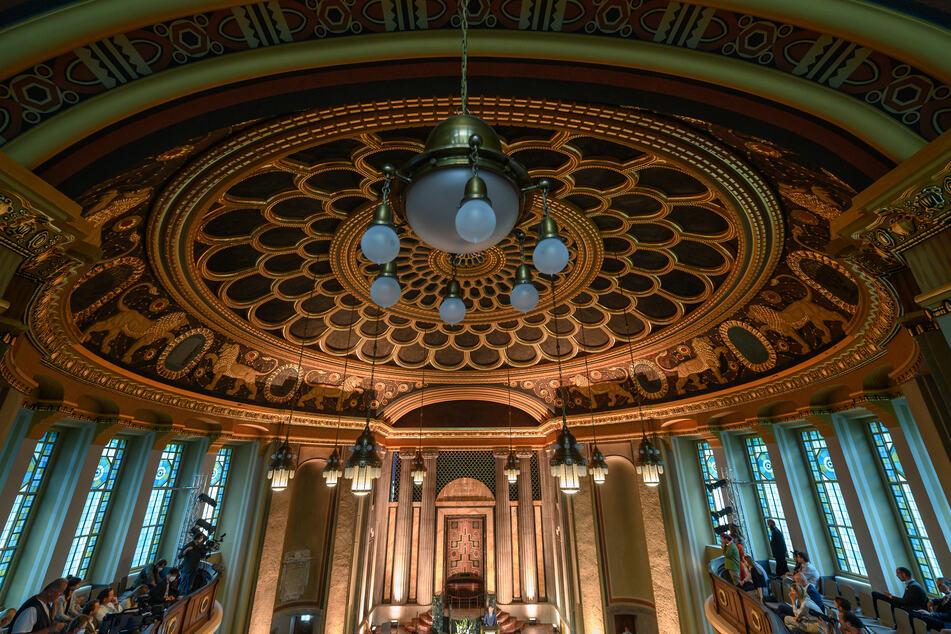 Der Kuppelsaal der Synagoge Görlitz.