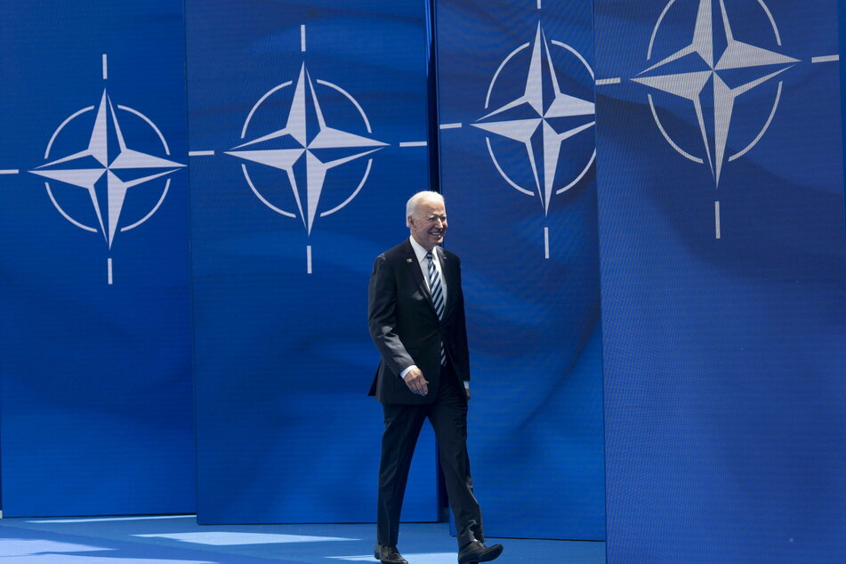Biden arrives at his first NATO summit as US president.