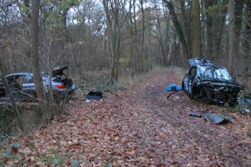 Beide Autos waren zuvor gestohlen worden.