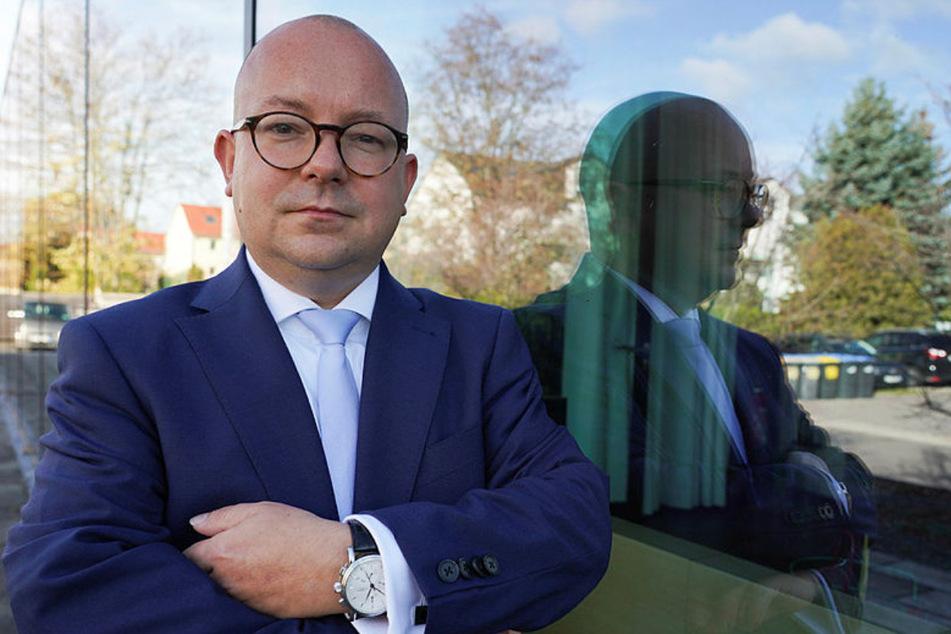 Sachsens FDP-Chef Frank Müller-Rosentritt (37) fordert mehr Unterstützung der Unternehmer in der Krise.