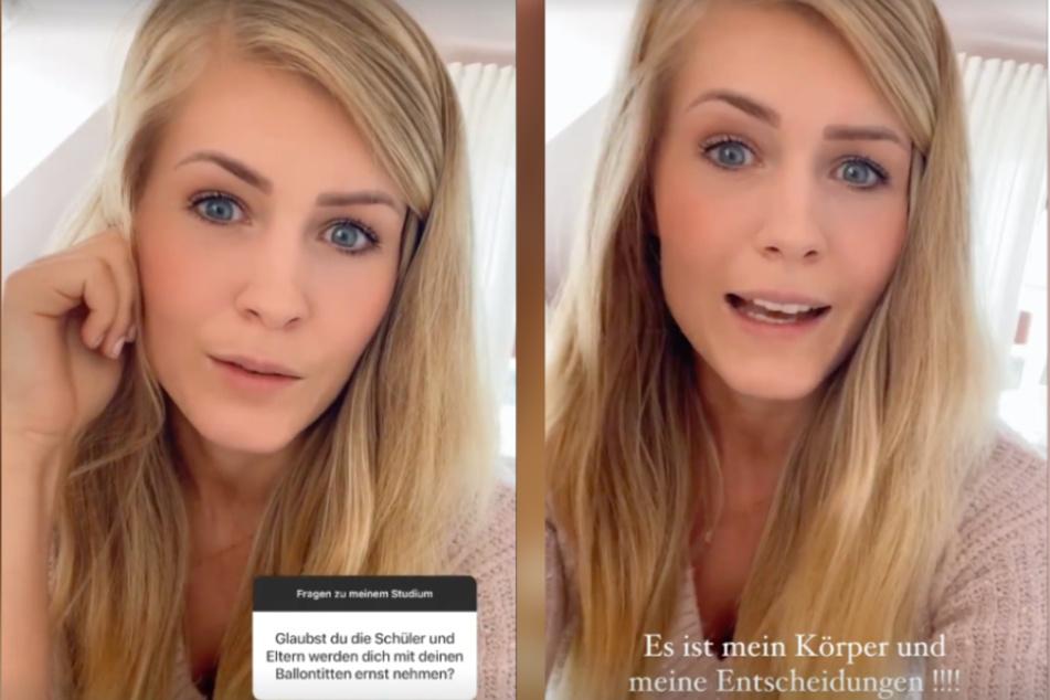 Hanna (28) äußert sich bei Instagram zu dem fiesen Kommentar.