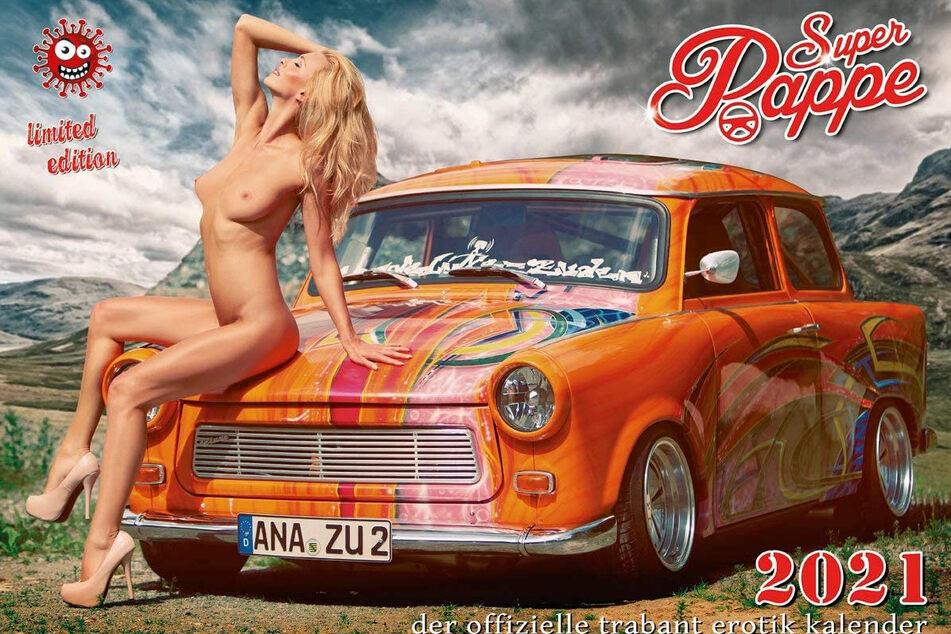 """Der Erotik-Kalender """"Super Pappe 2021"""" ist raus, obwohl tschechische Schönheiten im Frühling nicht zum Shooting kommen konnten."""