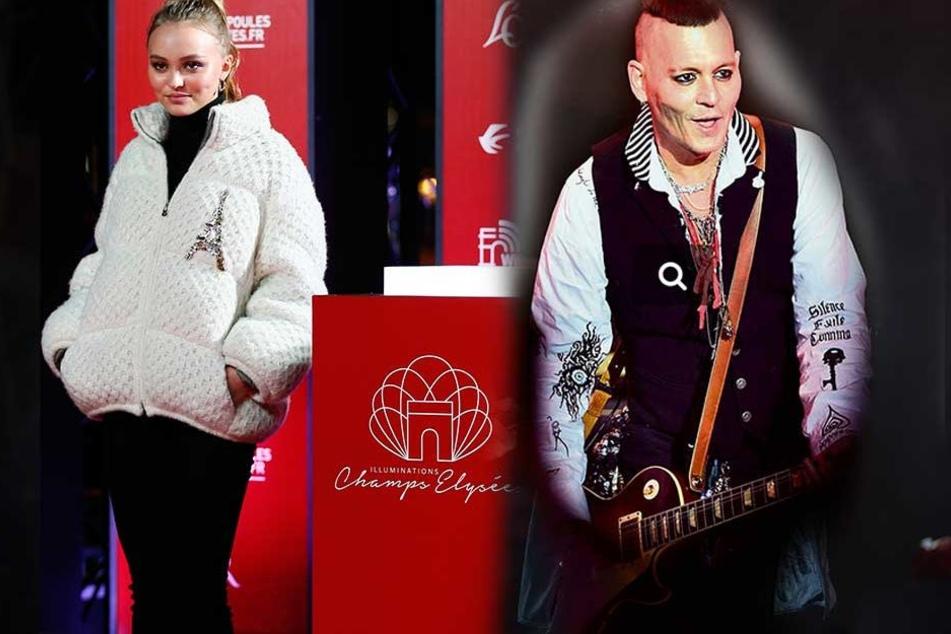 Erschreckender Anblick: Johnny Depp (55) Ende Mai bei einem Konzert in Moskau. Lily-Rose Depp (19) ist gefragtes Model und gefeierte Nachwuchsschauspielerin.