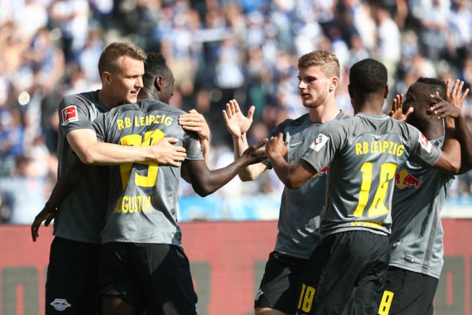 Sonne pur, Tore satt: Erstmals konnte RB Leipzig in der Bundesliga sechs Tore erzielen und sich zum zweiten Mal in Folge europäisch qualifizieren.