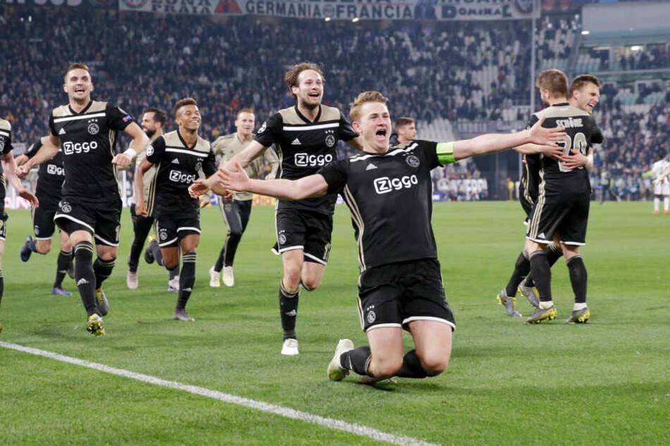 Ajax Amsterdam steht im CL-Halbfinale. In den Niederlanden wird deshalb ein Spieltag verschoben.